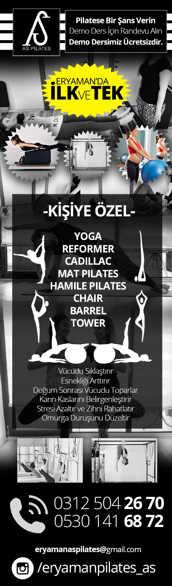 Eryaman As Pilates / Eryaman Pilates - Crossfit