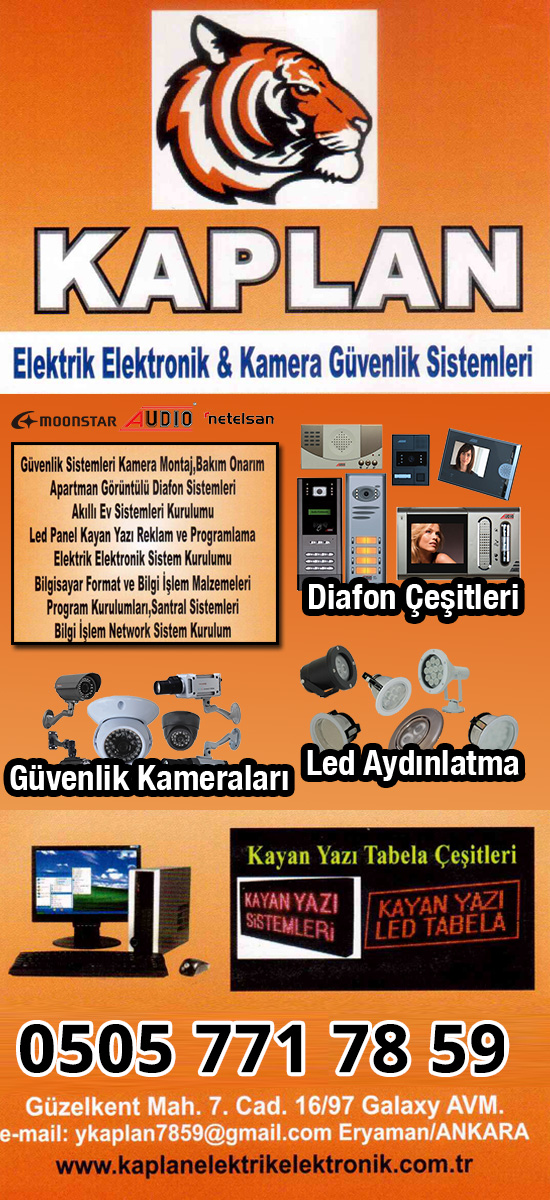 Kaplan Elektronik Eryaman