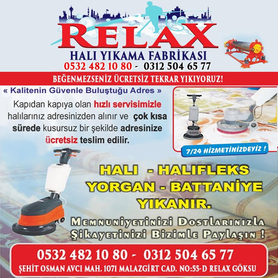 RELAX HALI YIKAMA, Halı Yıkama Fabrikası,