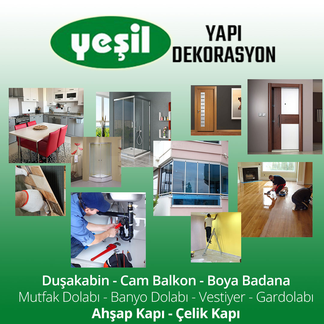 Ankara YEŞİL Yapı Dekorasyon,